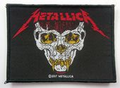 Metallica - 'German Skull Face' Woven Patch